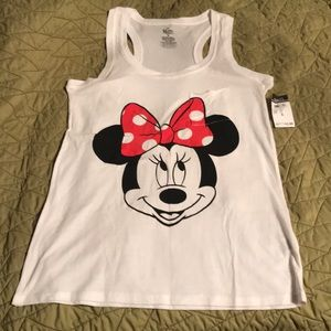 Minnie Mouse graphic pocket tank top